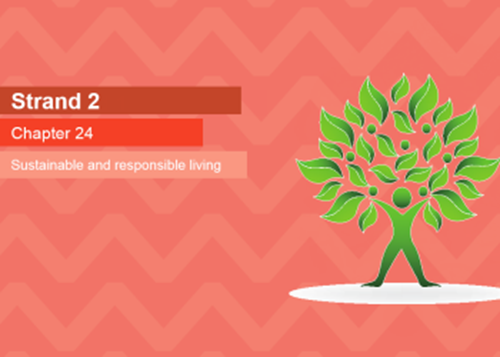 PowerPoint - 24. Sustainable & responsible living