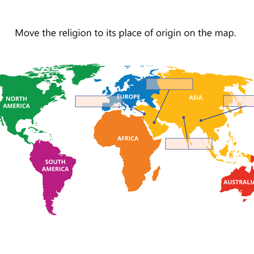 Origins of the major world religions