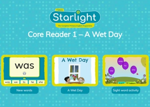 Interactive Core Reader: A Wet Day