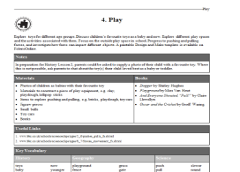 Play: Theme Plan